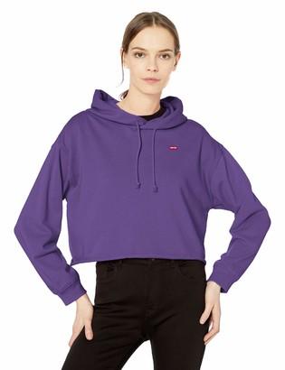 Levi's Women's Raw Cut Hoodie Sweatshirt