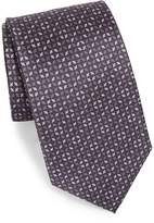 Brioni Men's Pattern Print Silk Tie