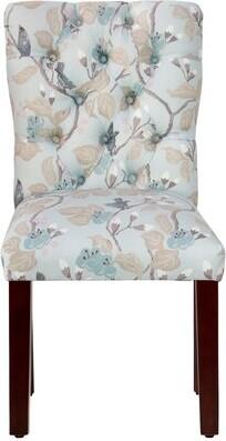 Alcott Hill Vassar Tufted Side Upholstered Dining Chair Alcott Hill