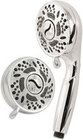 Bed Bath & Beyond 6-Position Turbo Spin Combo Shower Head in Chrome