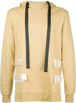 Matthew Miller - side strap hoodie - men - Cotton - M