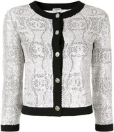Chanel Pre Owned Long Sleeve Spangle Jacket