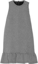 Mother of Pearl Mayers ruffled bonded jersey midi dress