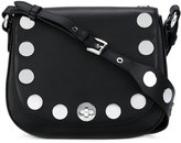 MICHAEL Michael Kors studded crossbody bag - women - Leather/Metal (Other) - One Size