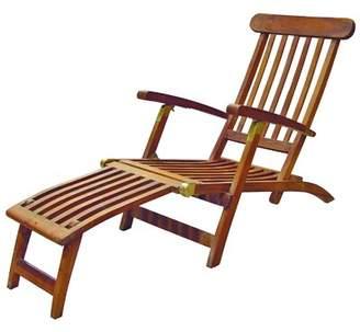 Britannia SeaTeak Folding Steamer Lounge Chair SeaTeak