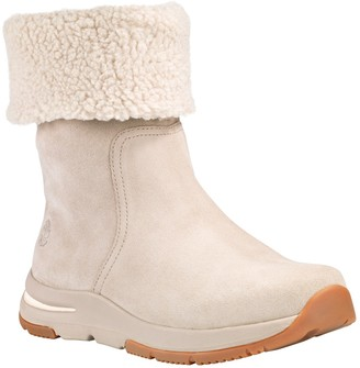 Timberland Mabel Town Fleece Lined Pull-On Waterproof Boot