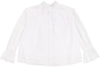 Oscar de la Renta Cotton Lace Shirt