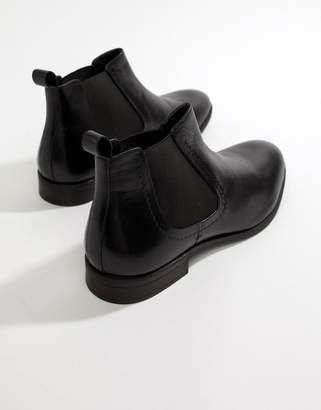 Pier 1 Imports chelsea boots in black leather