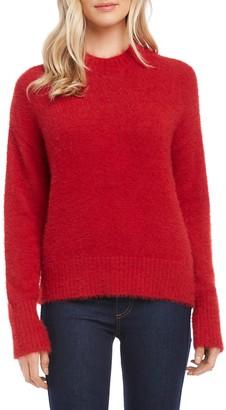 Karen Kane Fuzzy Pullover