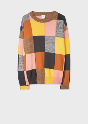 Paul Smith Women's Patchwork Cotton Sweater