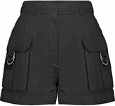 Balmain Linen and cotton-blend shorts