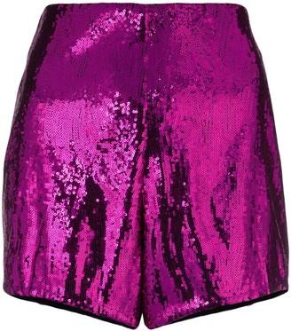 Philosophy di Lorenzo Serafini Sequin Embellished Shorts