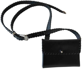 Cmmn Swdn Black Leather Handbags