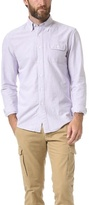 Michael Bastian Gant by The MB Oxford Stripe Button Down Shirt