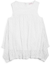 Design History Girls' Lace Tank - Big Kid