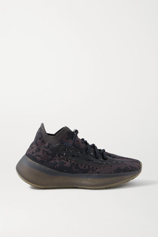 ADIDAS ORIGINALS - Yeezy Boost 380 Primeknit Sneakers - Black