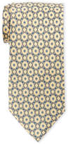 Pierre Cardin Silk Flower Chain Tie