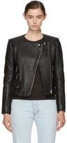 Etoile Isabel Marant Black Leather Biker Jacket