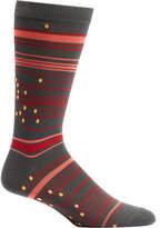 Ozone Circuit Stripes Crew Socks (2 Pairs) (Men's)