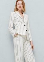 Mango Outlet Pinstripe suit blazer