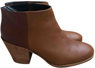 Rachel Comey \N Camel Leather Boots