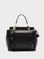 DKNY Saffiano Top Handle Satchel