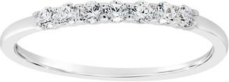 Affinity Diamond Jewelry Affinity 1/5 cttw Diamond 7-Stone Band Ring, 14K Gold