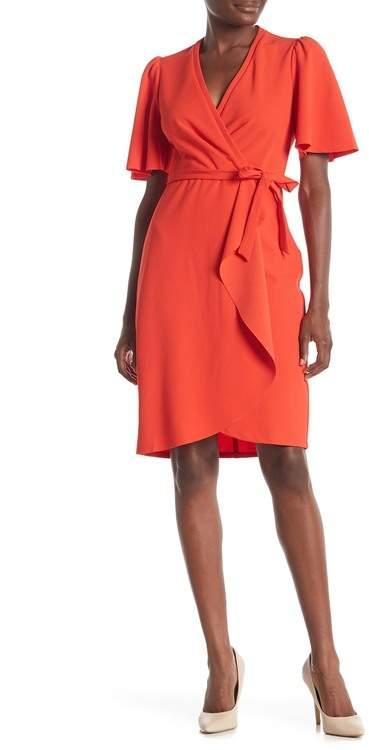 51f0082d78 Red Flutter Sleeve Dresses - ShopStyle