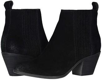 Frye Jacy Chelsea (Black Suede) Women's Boots