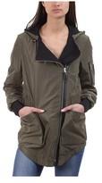 Mackage Women's Cam Draped Collar Raincoat