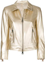 Sylvie Schimmel metallic zip jacket