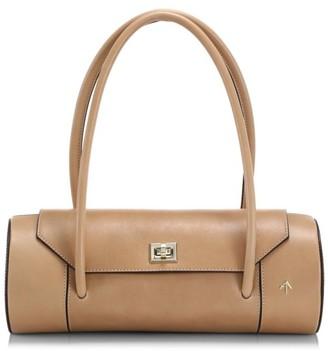 MANU Atelier London Leather Barrel Bag