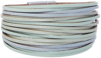 Frankie & Stein Women's Bracelets - Sea Blue & Green Layered Bracelet