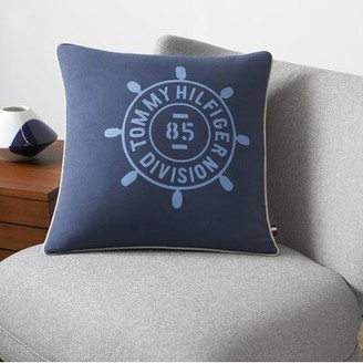 Tommy Hilfiger Cotton Feathers Throw Pillow