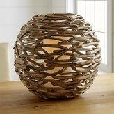Crate & Barrel Driftwood Lantern
