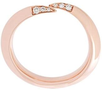 Shaun Leane Signature Tusk diamond wrap ring