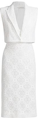 Alexander McQueen Lace Blazer Dress