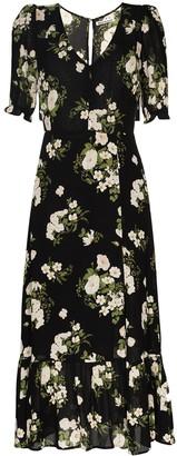 Reformation Celeste floral-print midi dress