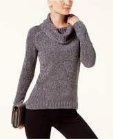 INC International Concepts Cowl-Neck Chenille Sweater, Created for Macy's