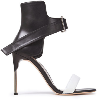 Alexander McQueen Two-tone Leather Sandals
