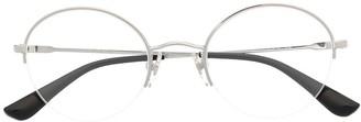 Vogue Eyewear Clear Round Glasses