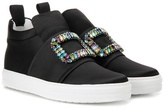 Roger Vivier Sneaky Viv' sneakers with crystal embelishment