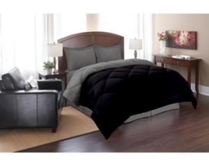 Elegant Comfort All - Season Down Alternative Luxurious Reversible 2-Piece Comforter Set Twin/Twin Xl Bedding