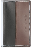 Marni tricolour wallet - men - Calf Leather/Polyurethane/Viscose - One Size