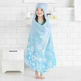 Disney Frozen Elsa Hooded Towel Wrap for Swimming Pool, Bath, or Beach by