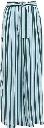 Tome Belted Silk-cady Wide-leg Pants
