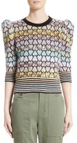 Marc Jacobs Women's Heart Knit Mohair Blend Sweater
