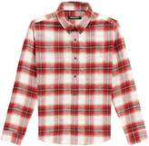 Balmain Plaid Shirt