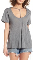 BP Women's T-Strap Short Sleeve Tee