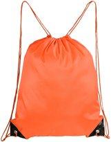 Mato & Hash Basic Drawstring Tote Cinch Sack Promotional Backpack Bag 15PK
